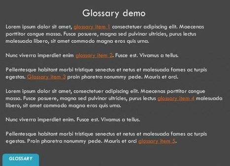 Storyline 2: Glossary Template - Downloads - E-Learning Heroes   elearning stuff   Scoop.it
