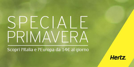 Hertz promozione primavera a 14 euro al giorno | Offerte partner CodiceRisparmio.it | Scoop.it