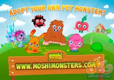 Moshi Monsters Reaches 50M Registered Users - BBGsite News Center - BBGsite.com | Transmedia 4 Kids | Scoop.it