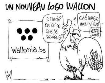 Le nouveau logo de la Wallonie, parodié sur la toile ! | Belgitude | Scoop.it