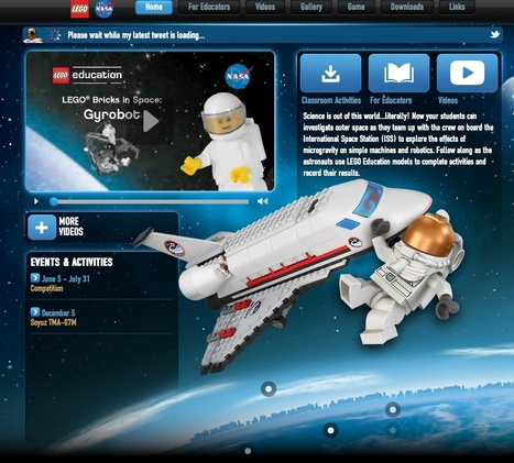 LEGOspace.com Home   Technology across the Australian Curriculum   Scoop.it