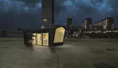 Crise du logement : Bientôt des mini-maisons sur les toits de Berlin | Innovation dans l'Immobilier, le BTP, la Ville, le Cadre de vie, l'Environnement... | Scoop.it