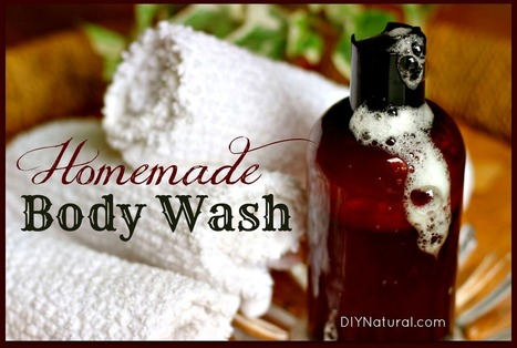 Homemade Body Wash That Is Moisturizing and Natural | Raw Edible Organic Skin Care | Scoop.it