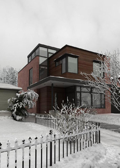 Maison sous la neige 3D | 3D Library | Scoop.it
