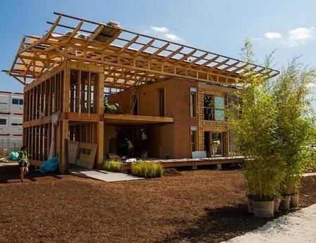 La maison en terre fait son retour à Lyon | technologie 5ème | Scoop.it