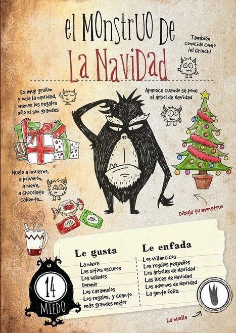 Pequeños Detectives de Monstruos: El Monstruo de la Navidad | Español para los más pequeños | Scoop.it