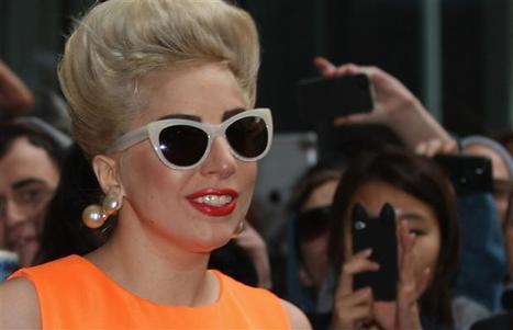 Gaga sprays first perfume, but where's the blood? - Canada.com | GAGA | Scoop.it