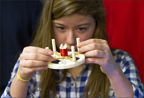 3-D Printing Initiative in U.S. School Attracts International Visitors | Top CAD Experts updates | Scoop.it