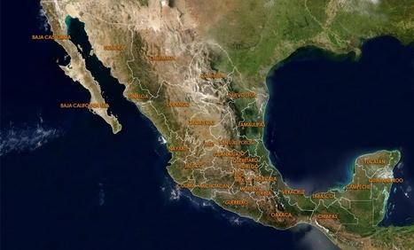 Mapa de Áreas Naturales Protegidas en México | Programas para la conservación de animales en peligro de extinción en México | Scoop.it