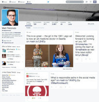 Twitter teste un nouveau design proche de Facebook | Mon cyber-fourre-tout | Scoop.it