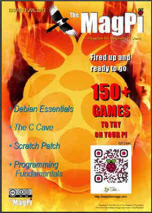 MagPi - A Raspberry Pi Magazine Reaches Issue 3 | Raspberry Pi | Scoop.it