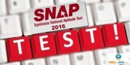 SNAP Entrance Exam | SNAP 2016 | MBA in India | Scoop.it