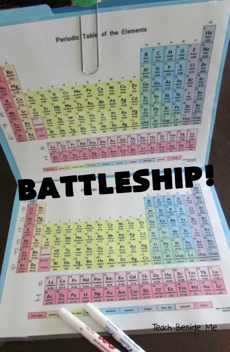 Periodic Table Battleship - Teach Beside Me | Aprendizajes 2.0 | Scoop.it