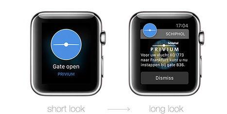 Apple Watch app being trialled at Amsterdam Airport Schiphol | Wearable Devices | Scoop.it