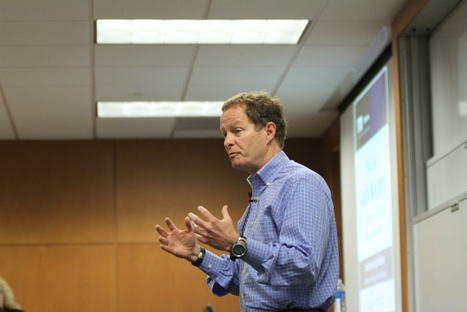 """Whole Foods Market co-founder makes case for """"conscious capitalism"""" at FIU Downtown on Brickell's first Wertheim Lecture. 
