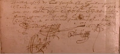 Au détour des actes : signature | GenealoNet | Scoop.it