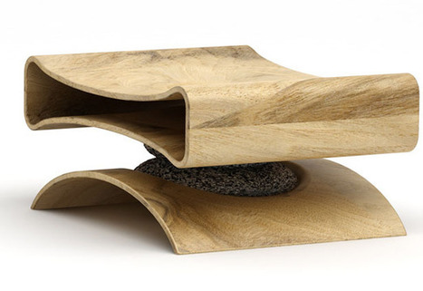 Co-existence Chair Design by Ryan Jongwoo Choi | Furniture Designs | Scoop.it