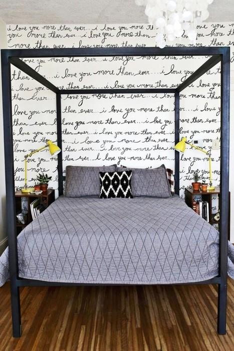 { DIY } Décoration murale pour petite chambre… | décoration & déco | Scoop.it