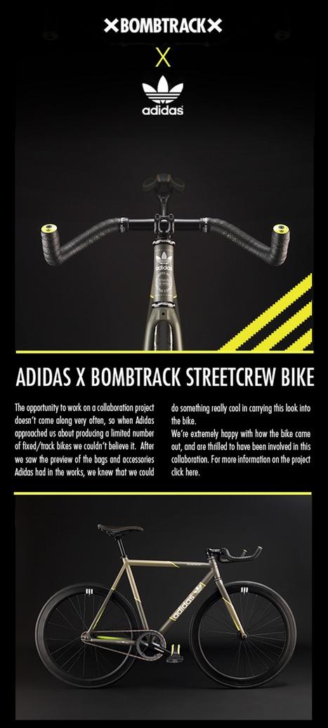 Adidas x Bombtrack Streetcrew Bike | Urban Bikes | Scoop.it