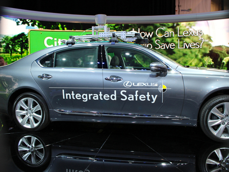 Here's How Audi And Lexus Imagine The Future Of Self-Driving Cars | Daily Magazine | Scoop.it