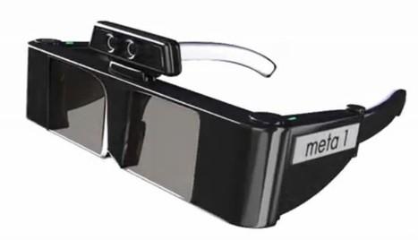 Des lunettes à réalité augmentée pour manipuler les objets en 3D | Augmented Reality Stuff For You | Scoop.it
