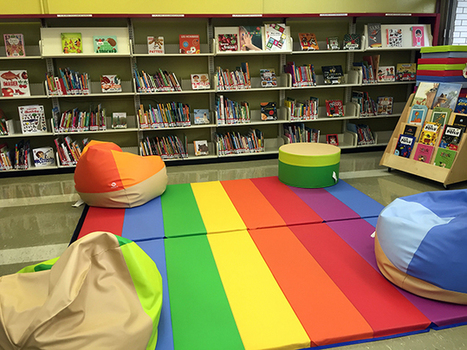 Quand on transforme la bibliothèque en classe | ICI.Radio-Canada.ca | LibraryLinks LiensBiblio | Scoop.it