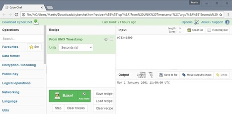 CyberChef: swiss-army knife conversion tool - gHacks Tech News | techno and social | Scoop.it