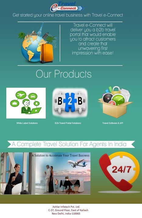 Travel Portal Development India,White Label Solution For Travel Agents: Get started | Online Travel Portal Development & Solution for White Label in India | Scoop.it