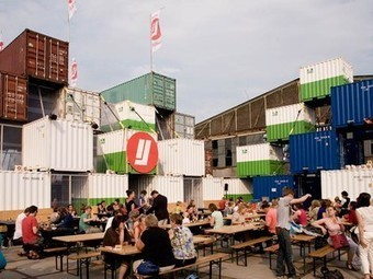 Temporary Shipping Container City Built in Amsterdam | Vertical Farm - Food Factory | Scoop.it