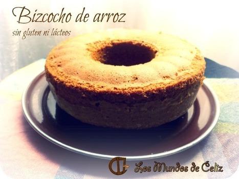 """Bizcocho de harina de arroz"", sin gluten, sin lácteos | Gluten free! | Scoop.it"