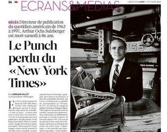 Le Punch perdu du «New York Times» | DocPresseESJ | Scoop.it