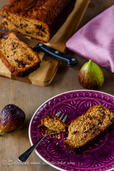Fig and Chocolate Bread   Baking Recipes   Scoop.it