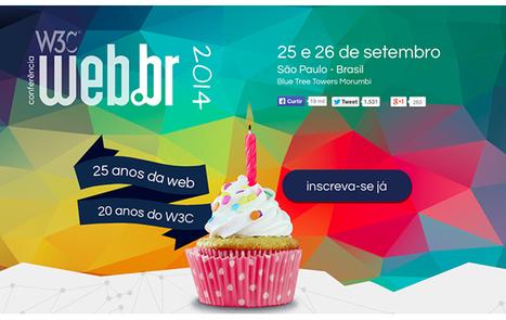 Conferência Web.br, 25 e 26 de setembro, veja detalhes e links aqui - Blue Bus | Webbr 2014 | Scoop.it