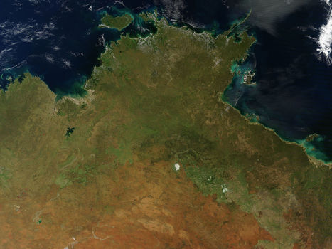 NASA MODIS Image of the Day: April 8, 2012 - Northern Australia | SpaceRef - Your Space Reference | Remote Sensing News | Scoop.it