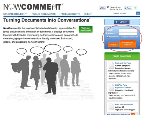 NowComment.com: Turning Documents into Conversations   Wicked Good Educational Technology Tools 2014   Scoop.it