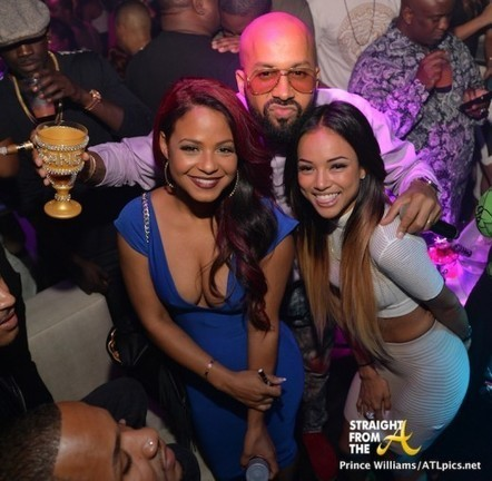Club Shots: Karrueche Tran, Christina Milian, Meek Mill & More Party in The A… [PHOTOS] | GetAtMe | Scoop.it