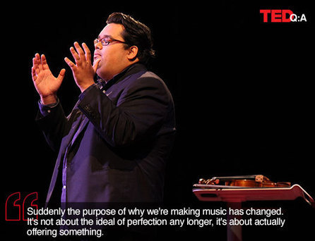 TED Blog | Music, the mind, and medicine: A Q&A with Robert Gupta | Music to work to | Scoop.it