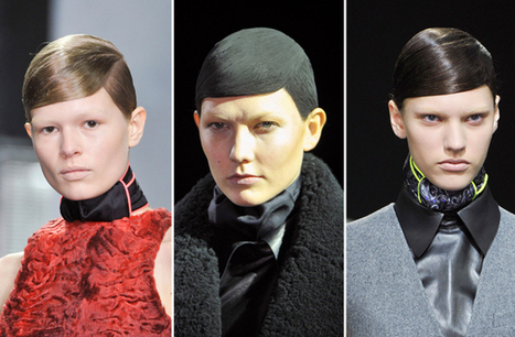 The Combover to End All Combovers at Alexander Wang (Plus, Bleached Brows!)   Total Style Fashion   Scoop.it