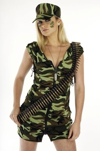Ladies Army Girl Fancy Dress Costume | Fancy Dress Ideas | Scoop.it
