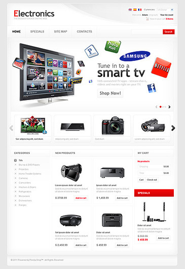 PrestaShop Themes: Collection of Best PrestaShop Theme Templates | Webgranth | How to Grow Your Business Online | Scoop.it