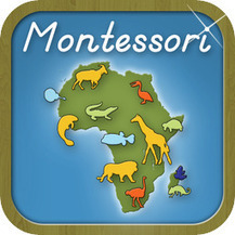 Animals of Africa – A Montessori Approach to Geography | Apps for Children with Special Needs | Scoop.it