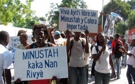 Haití marcha contra presencia de EEUU a 100 años de invasión | La R-Evolución de ARMAK | Scoop.it