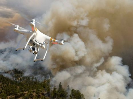 Les drones, nouvel outil contre les incendies de forêt   Libertés Numériques   Scoop.it
