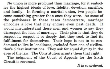 The Most Gorgeous, Powerful Passages From Kennedy's Marriage Equality Decision | Gay News | Scoop.it