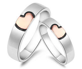 Couples Rings & Bands Sets | Heart Rings for Couples | Scoop.it