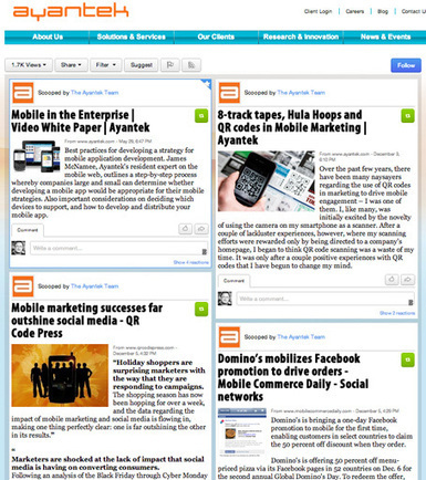 Shine on the web | Scoop.it | Collaboration tools and news | Scoop.it