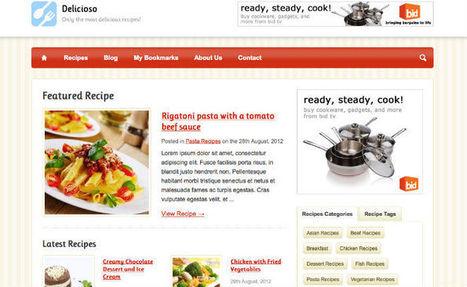 I Migliori Temi Wordpress Per Creare un Blog di Cucina | responsive web design | Scoop.it