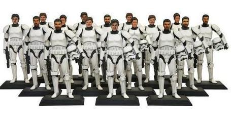 Turn Yourself Into a 3D-Printed Star Wars Stormtrooper | FabLab today | Scoop.it