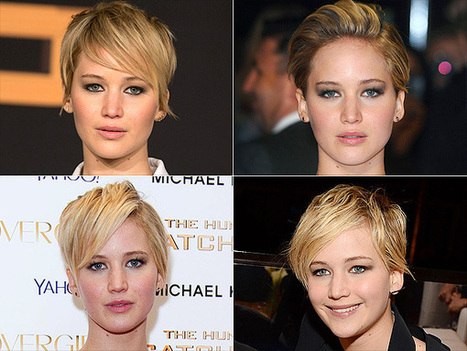 The Guide to Styling Your Short Hair, Brought to You By Jennifer Lawrence | THG and BTR | Scoop.it