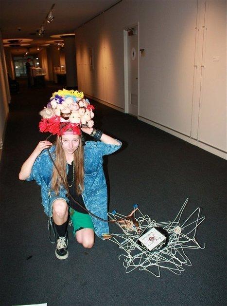 Artistic fashion statement   Thacher Gallery   Scoop.it